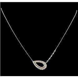 1.28 ctw Diamond Necklace - 14KT White Gold