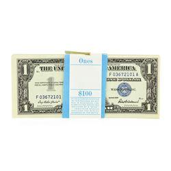 Original 1957 $1 Silver Certificate Pack of 100