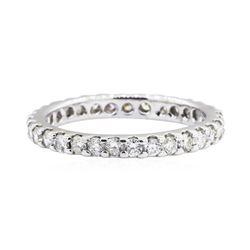 1 ctw Diamond Ring - 14KT White Gold