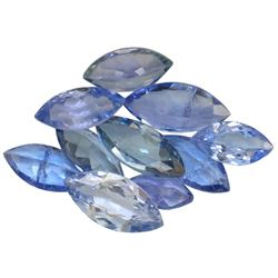 11.9 ctw Marquise Mixed Tanzanite Parcel