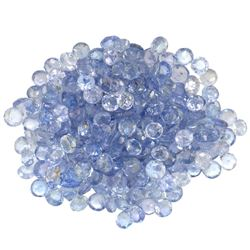 15.49 ctw Round Mixed Tanzanite Parcel