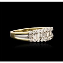14KT Yellow Gold 1.20 ctw Diamond Ring