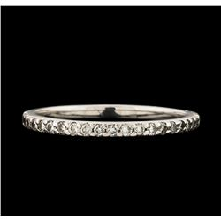 0.34 ctw Diamond Ring - 14KT White Gold