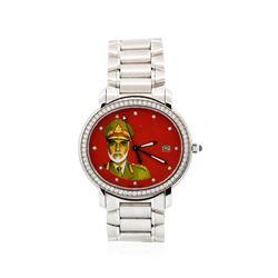 "Audemars Piguet 18KT White Gold ""Millenary"" Automatic Wristwatch"
