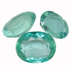 5.28 ctw Oval Emerald Parcel