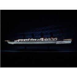 "SS United States Limited Model Cruise Ship 40"" w/ LED Lights"