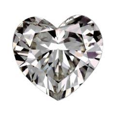 3ct Heart Cut BIANCO Diamond
