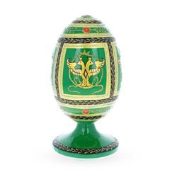 1912 Napoleonic Russian Wooden Egg