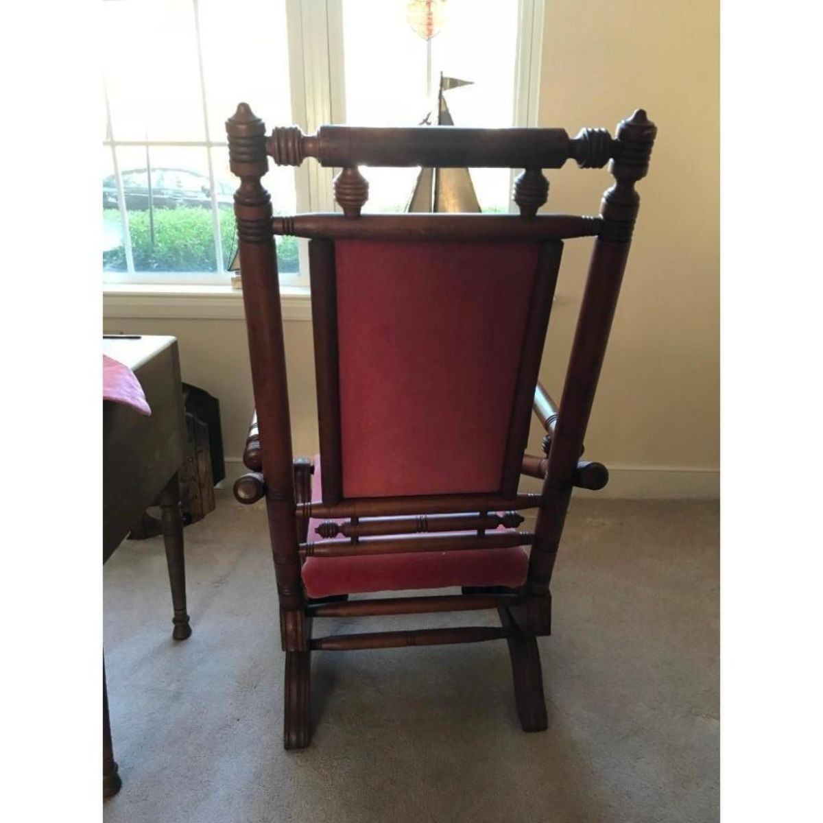 Marvelous Antique Gentlemans Platform Rocker Gmtry Best Dining Table And Chair Ideas Images Gmtryco
