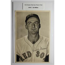 1953 Boston Red Socks Picture Pack - Del Wilber