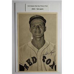 1953 Boston Red Socks Picture Pack - Ted Lepcio
