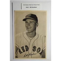 1953 Boston Red Socks Picture Pack - Bill Goodman