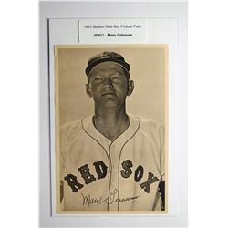 1953 Boston Red Socks Picture Pack - Marv Grissom