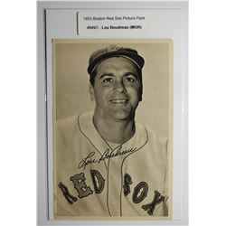 1953 Boston Red Socks Picture Pack - Lou Boudreau (MGR)