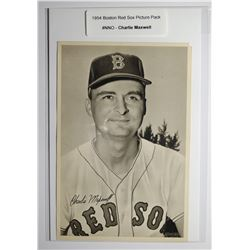 1954 Boston Red Socks Picture Pack - Charlie Maxwell