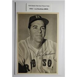 1954 Boston Red Socks Picture Pack - Lou Boudreau (MGR)