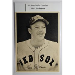 1948 Boston Red Socks Picture Pack - Vern Stephens