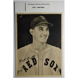 1948 Boston Red Socks Picture Pack - Matt Batts
