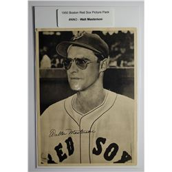 1950 Boston Red Sox Picture Pack - Walt Masterson