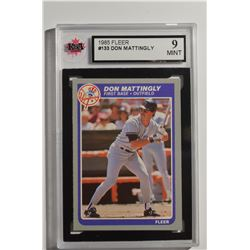 1985 Fleer #133 Don Mattingly