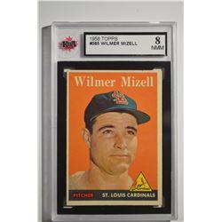 1958 Topps #385 Wilmer Mizell