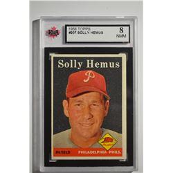 1958 Topps #207 Solly Hemus