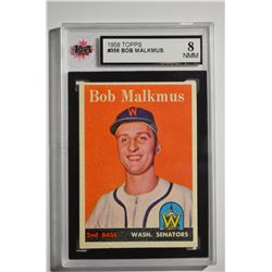 1958 Topps #356 Bob Malkmus RC