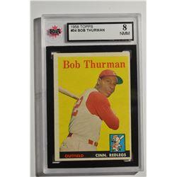 1958 Topps #34 Bob Thurman