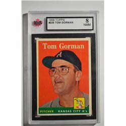 1958 Topps #235 Tom Gorman