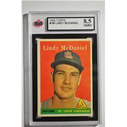 1958 Topps #180 Lindy McDaniel
