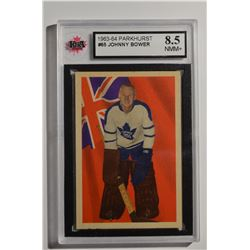 1963-64 Parkhurst #65 Johnny Bower