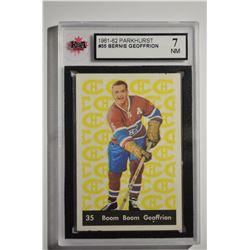1961-62 Parkhurst #35 Bernie Geoffrion