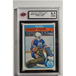 1982-83 O-Pee-Chee #105 Grant Fuhr RC