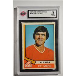 1974-75 O-Pee-Chee #286 Pat Quinn