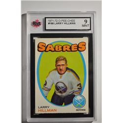1971-72 O-Pee-Chee #168 Larry Hillman