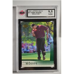 2001 Upper Deck #1 Tiger Woods RC