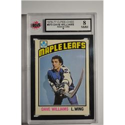 1976-77 O-Pee-Chee #373 Tiger Williams RC