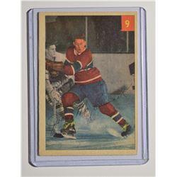 1954-55 Parkhurst #9 John McCormack