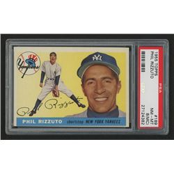 1955 Topps #189 Phil Rizzuto (PSA 8) - NM-MT