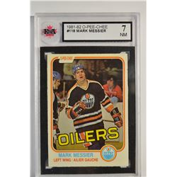 1981-82 O-Pee-Chee #118 Mark Messier