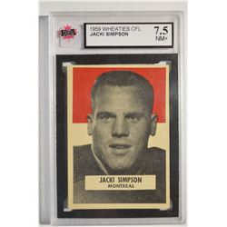 1959 Wheaties CFL #41 Jackie Simpson UER