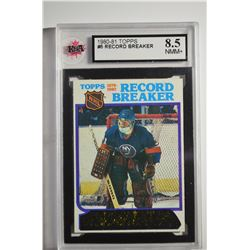 1980-81 Topps #5 Billy Smith RB/First Goalie to score