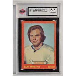 1973-74 O-Pee-Chee #51 Bert Marshall