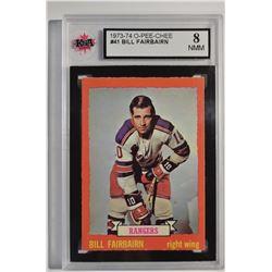 1973-74 O-Pee-Chee #41 Bill Fairbairn