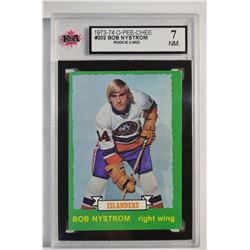 1973-74 O-Pee-Chee #202 Bob Nystrom RC
