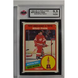 1984-85 O-Pee-Chee #378 Brad Park TW