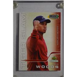 2002 Tiger Woods Upper Deck Collectibles Play Makers TWS-2
