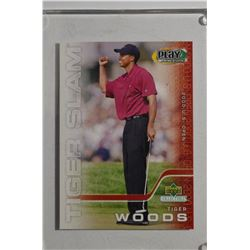 2002 Tiger Woods Upper Deck Collectibles Play Makers TWS-1