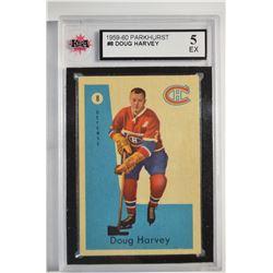 1959-60 Parkhurst #8 Doug Harvey