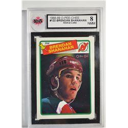 1988-89 O-Pee-Chee #122 Brendan Shanahan RC